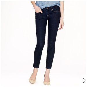 J Crew Toothpick Skinny Jeans Dark Wash 28